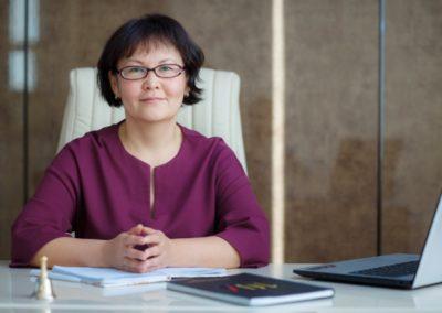 Гулсина Кожоярова, председатель правления ОО«Центр медиации иправа»