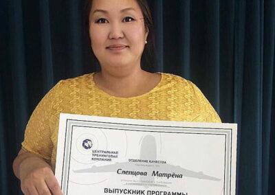 Матрена Слепцова, владелец, ООО «Апельсин +», г.Якутск